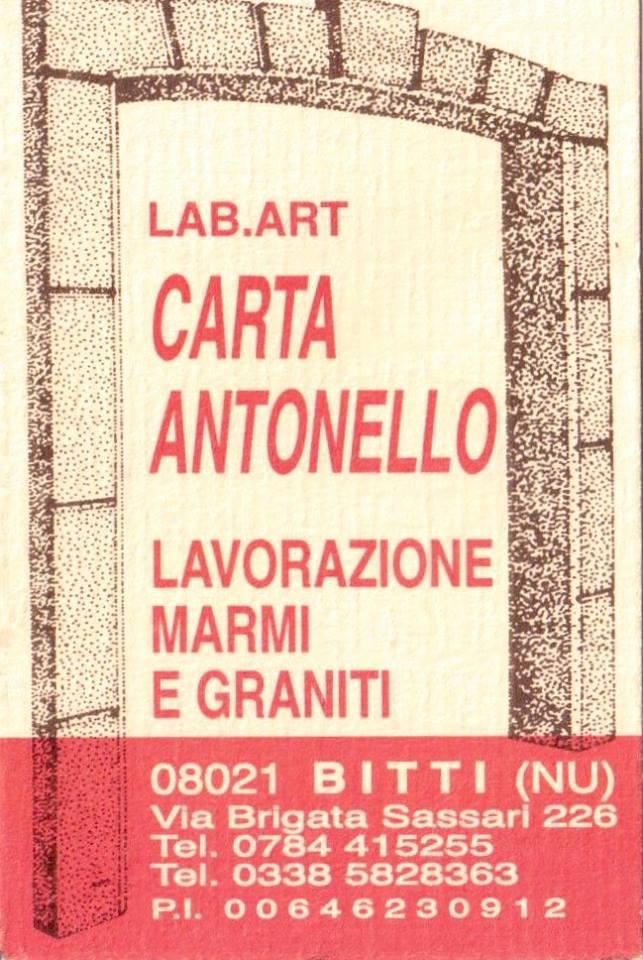 Antonello Carta Bitti